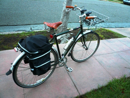 Raleigh One Way with Avenir panniers