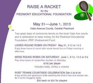 Raise a Racket - click for tickets