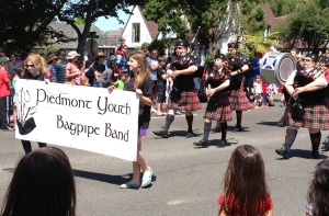 Piedmont Youth Bagpipe Band
