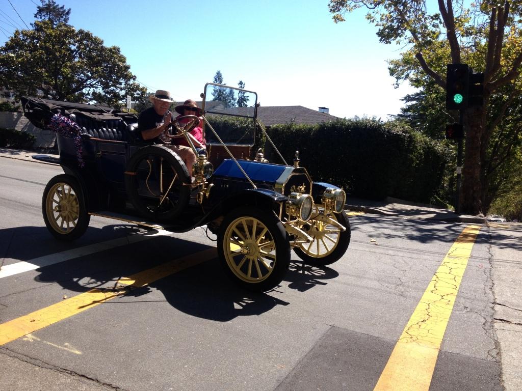 4th of July Parade vintage car